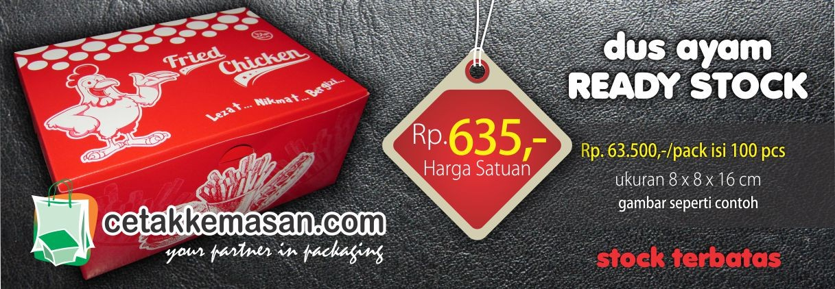 ... Dus Fried Chicken Ready Stock · Kantong ...