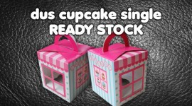 Dus Cupcake Ready Stock