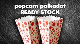 Popcorn Polkadot Ready Stock