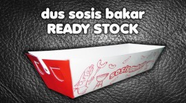 Dus sosis Bakar Ready Stock
