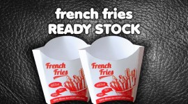 French Fries Ready Stock
